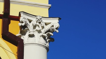 Chapiter of classical style column