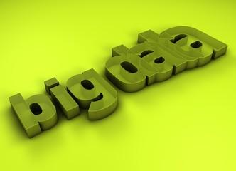 Bg Data 3D Title