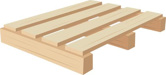bancale di legno
