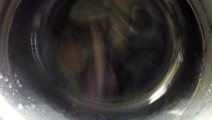 spinning washing machine