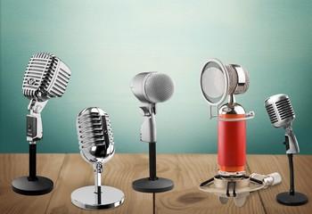 Microphone. Classic microphone