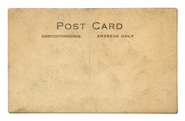 Vintage Antique Postcard Background