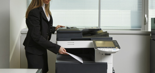 Italy, italian Xerox machine in an office