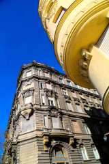 Historische Architektur in Budapest