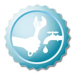 Repair plumbing design vector