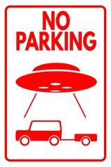 UFO No parking