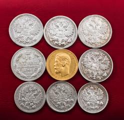 coins made of precious metals