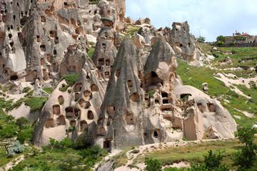 Uchisar village, Cappadocia, Turkey