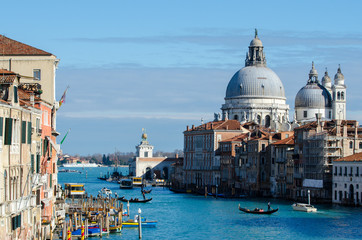 Breathtaking view of the Grand Canal and Basilica.