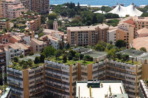 Monaco building roofs - 80927850