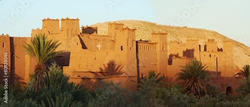 Fotobehang Marokko Ksar d'Aït-Ben-Haddou, Maroc