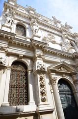 Vieux immeuble à Venise