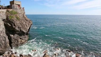 seascape to Monterosso al mare, liguria