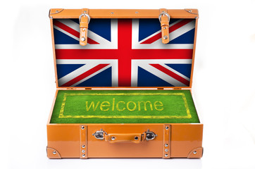 welcome in england