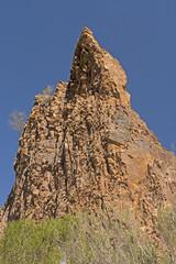 Dramatic Pinnacle in the Desert