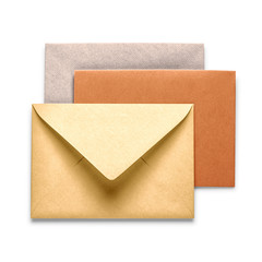 Vintage brown envelopes