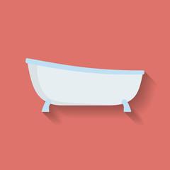 Icon of Bath. Flat style