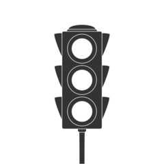 Icon of traffic light.