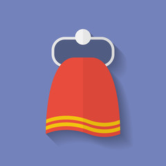 Icon of Towel. Flat style