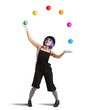 Clown like a juggler - 80932222
