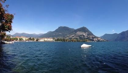 Lugano mit Monte Bre