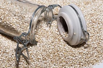 Bote con quinoa