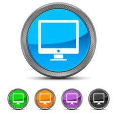 Round Computer icon