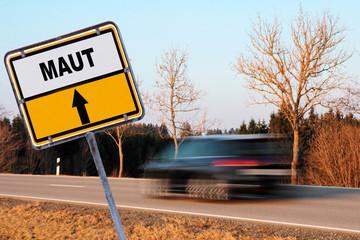Maut für Autofahrer