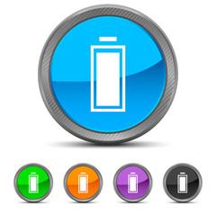 Round Battery icon