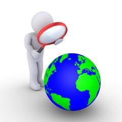 Examining the planet