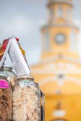 Dulces y Torre del Reloj