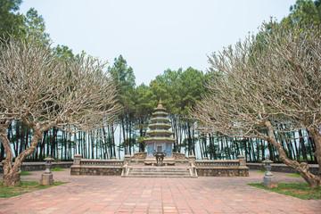 historic buildings  at Thien Mu Pagoda