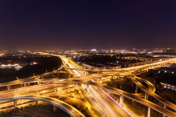 Night overpass