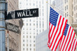 Wall street, New York, USA. - 80941445