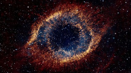 Flying Into Eye Galaxy