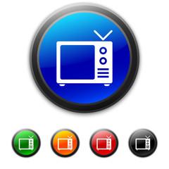 White Television icon