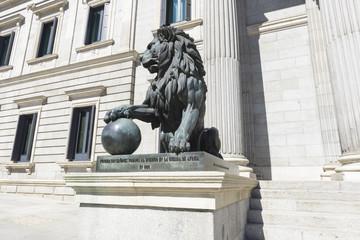 Edificio del Parlamento español, Madrid (España)