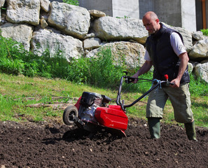 jardinage - motoculteur