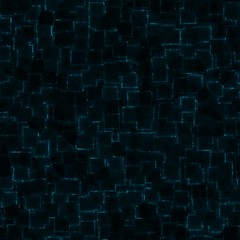Abstract cybernetic background