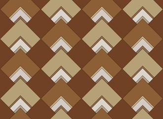 seamless wallpaper pattern tile background geometric brown