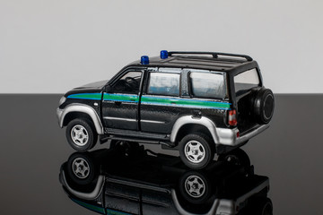 Toy model of the car