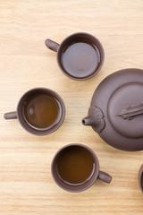 Close Up teapot and teacup