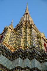 Thai Architecture: Wat pho, Bangkok, Thailand