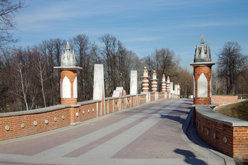 Tsaritsyno Park and Estate in Moscow