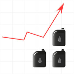 schedule of oil prices going up