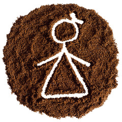Кофейная девочка