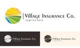 Village Insurance Logo Vector