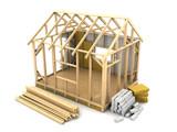 frame house construction - 80957256