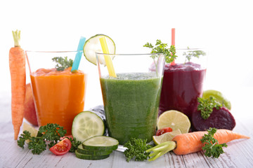 fresh vegetable juice