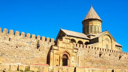 Orthodox cathedral in Mtskheta, Georgia.